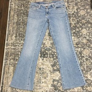 American Eagle Hipster Flare Jeans Light Wash
